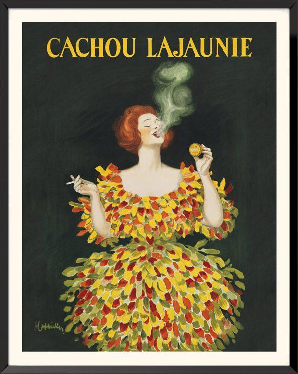 Affiche Cachou Lajaunie de Leonetto Cappiello