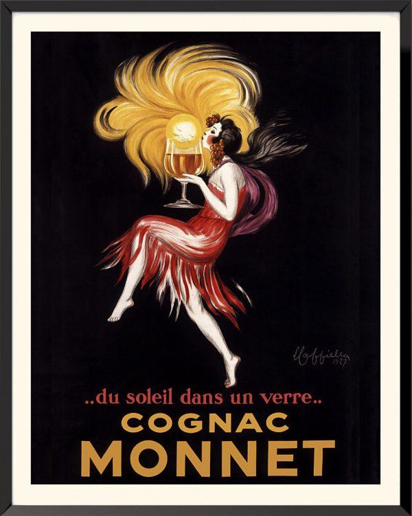 Affiche Cognac Monnet de Leonetto Cappiello