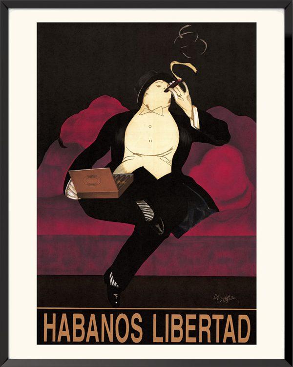 Affiche Habanos Libertad de Leonetto Cappiello