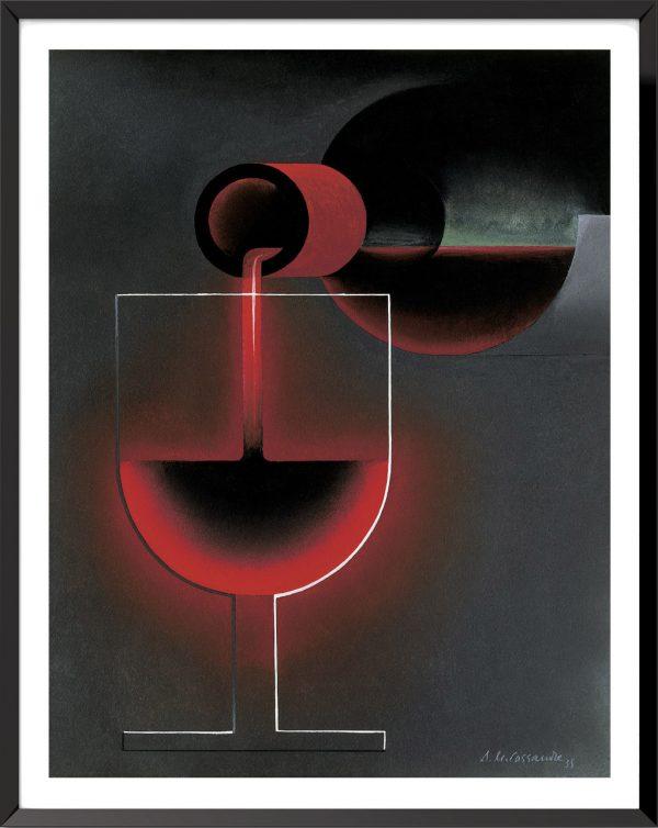 Affiche Nicolas (projet) de A.M. Cassandre