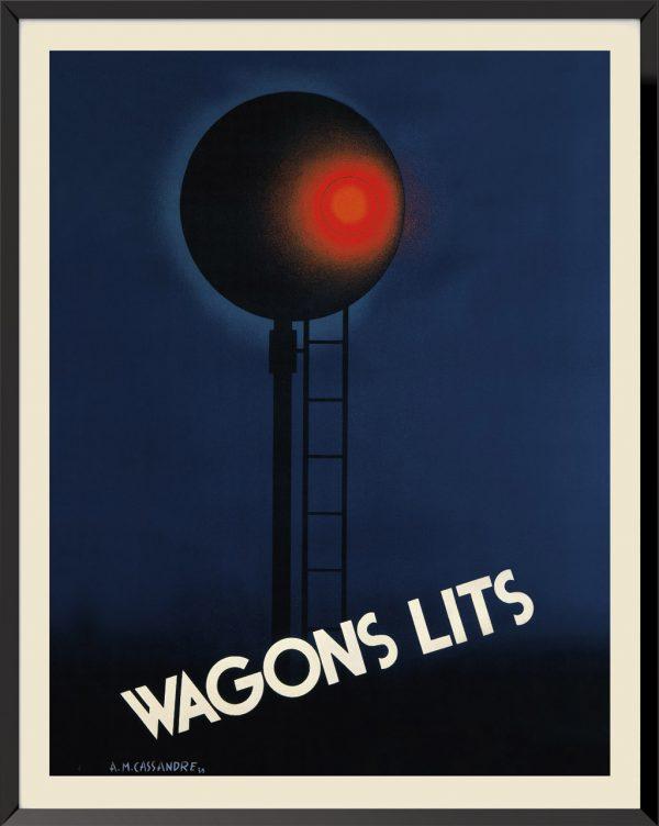 Affiche Wagons-lits de A.M. Cassandre