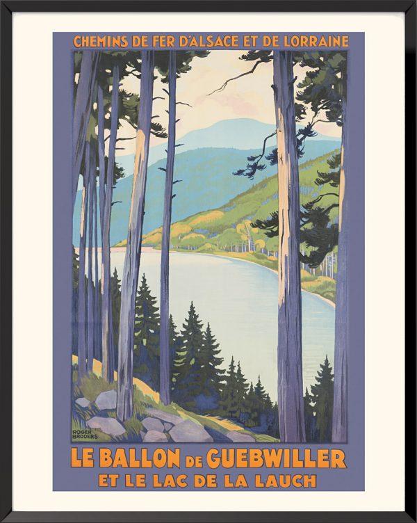 Affiche Le Ballon de Guebwiller de Roger Broders