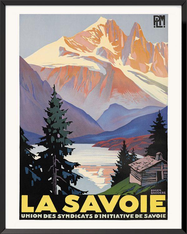 Affiche La Savoie de Roger Broders