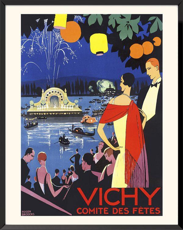 Affiche Vichy de Roger Broders