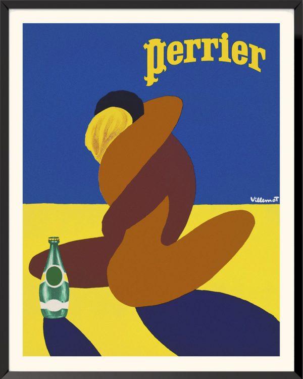 Affiche Perrier (1978) de Bernard Villemot