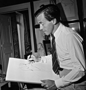 L'artiste René Gruau