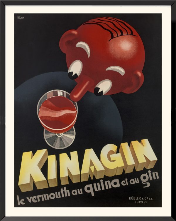 Affiche Kinagin de E. Patké