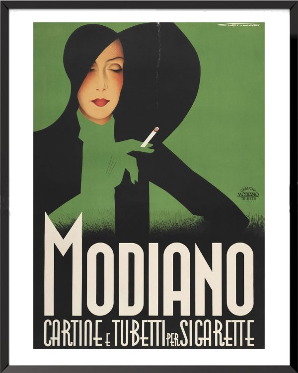 Affiche Modiano de Frantz Lenhart