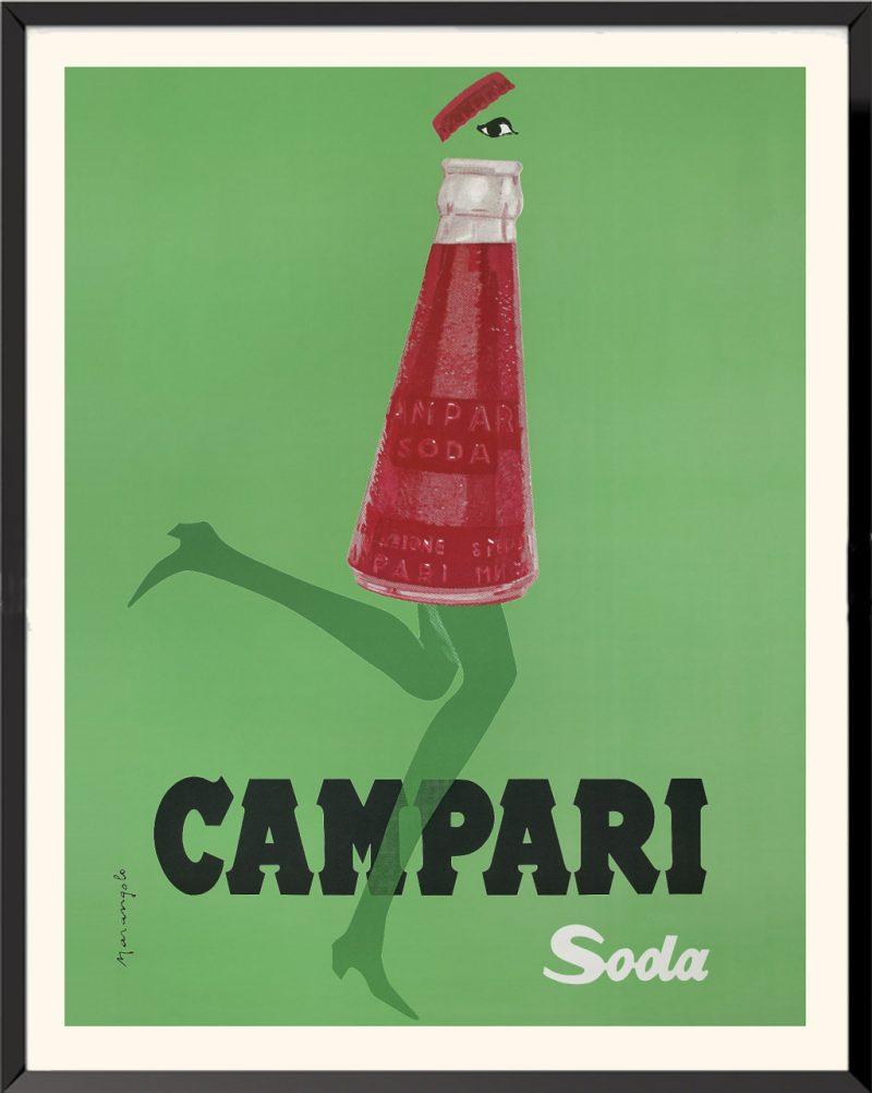 L'affiche Campari Soda de Franz Marangolo
