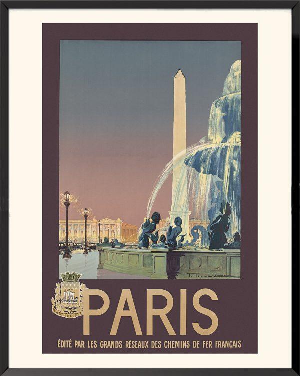 Affiche Paris de Julien Lacaze