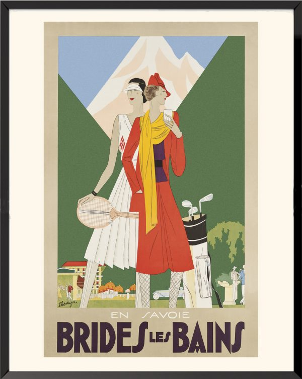 Affiche Brides-les-Bains de Léon Begnini