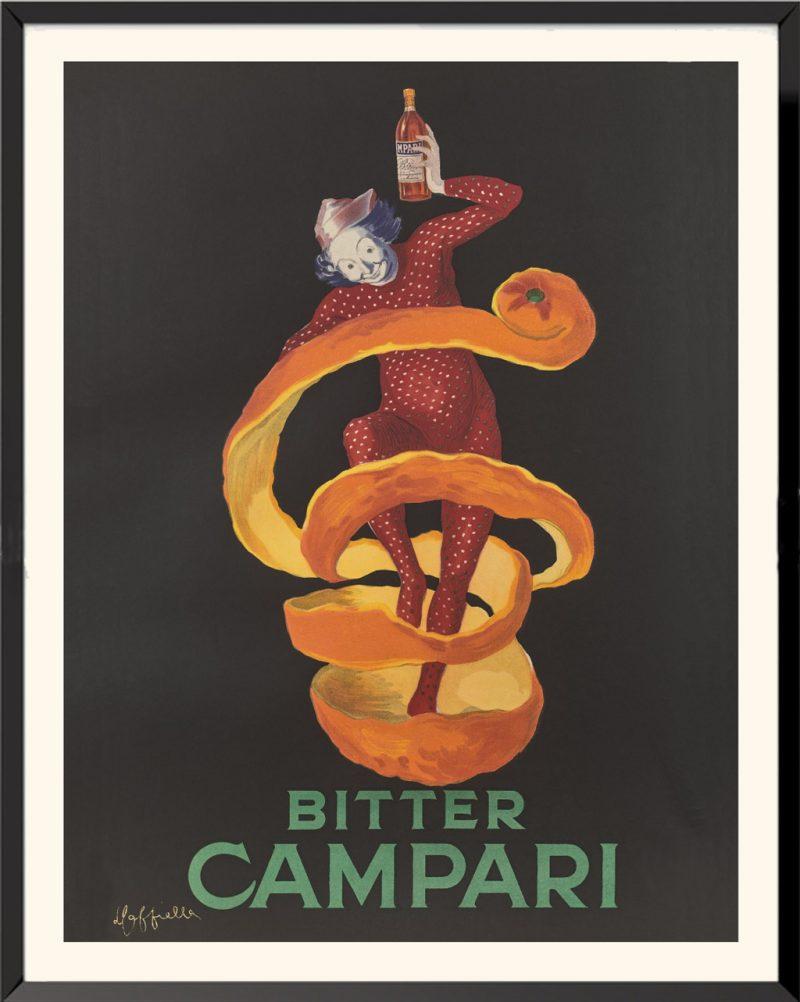 Affiche Bitter Campari de Leonetto Capiello
