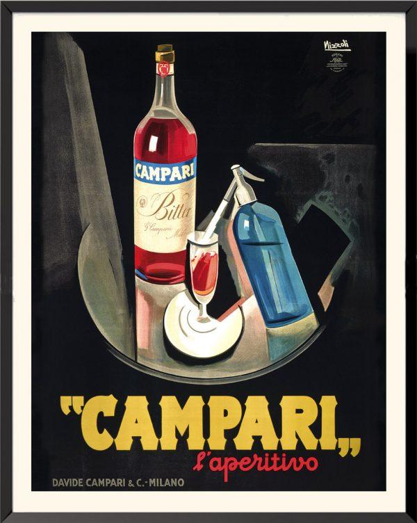 Affiche Campari l'aperitivo de Marcello Nizzoli