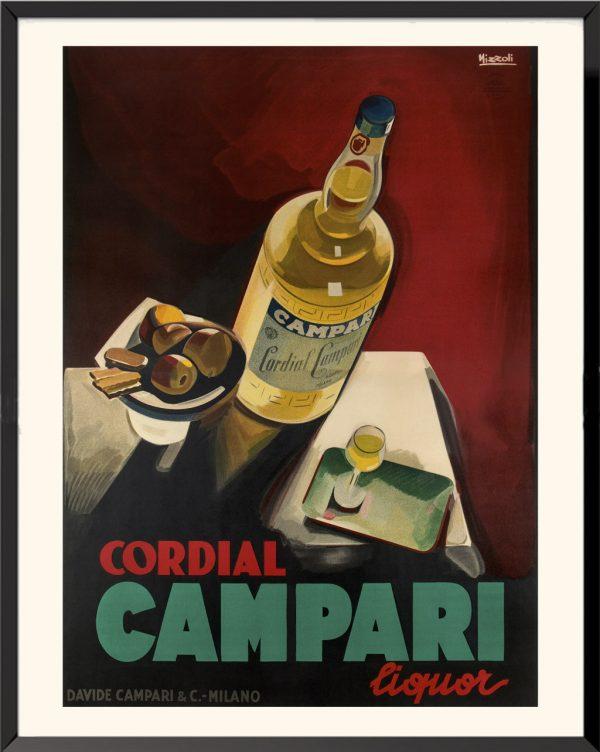 Affiche Cordial Campari Liquor de Marcello Nizzoli