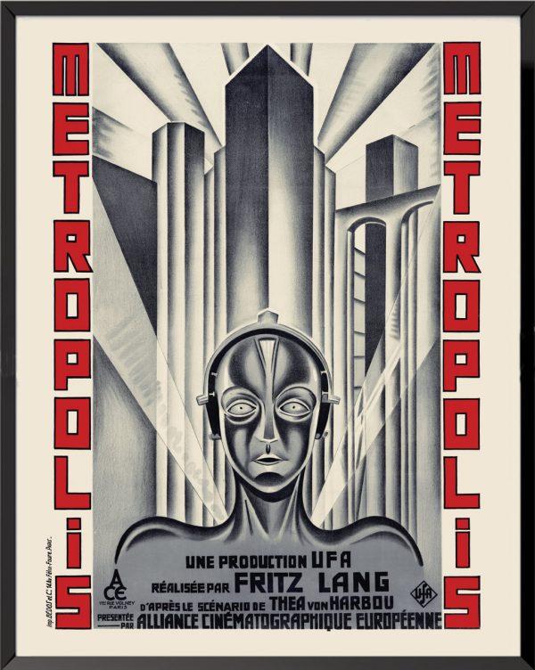 Affiche Metropolis, 1927