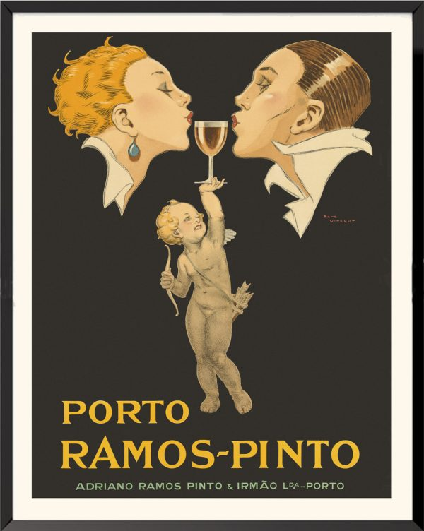 Affiche Porto Ramos-Pinto de René Vincent