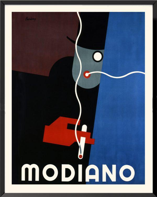 Affiche Modiano de Robert Berény