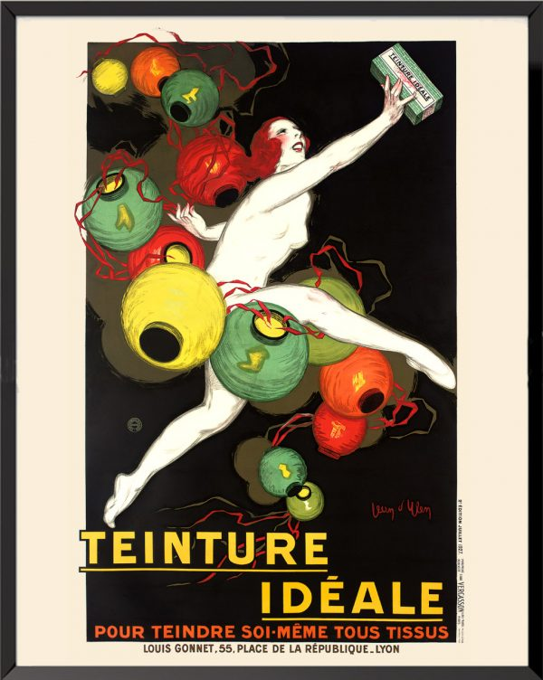 Affiche Teinture idéale de Jean d'Ylen