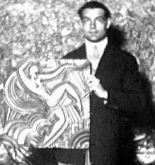 L'artiste Maurice Pico (Picaud)
