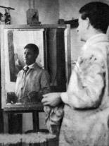 L'artiste Robert Berény