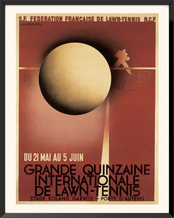 Affiche Lawn-tennis de A. M. Cassandre