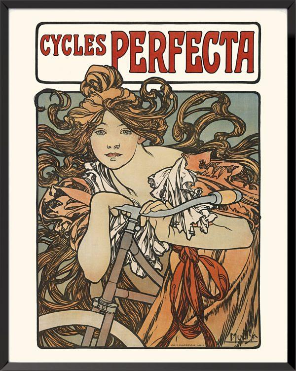 Cycles Perfecta de Alphonse Mucha
