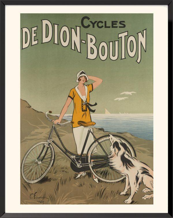 Affiche Cycles de Dion-Bouton de Félix Fournery