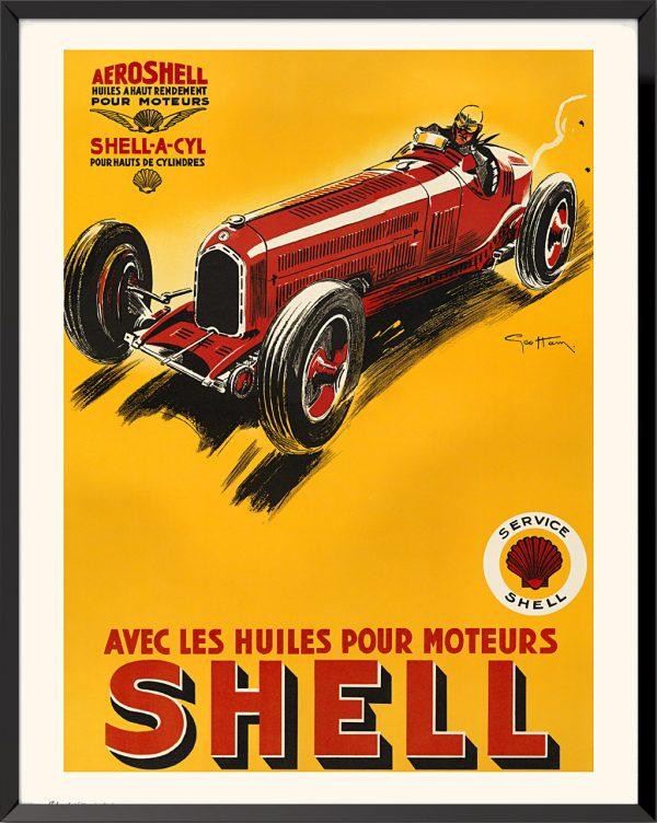 Affiche Shell de Géo Ham