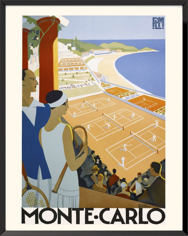 Affiche Monte Carlo de Roger Broders