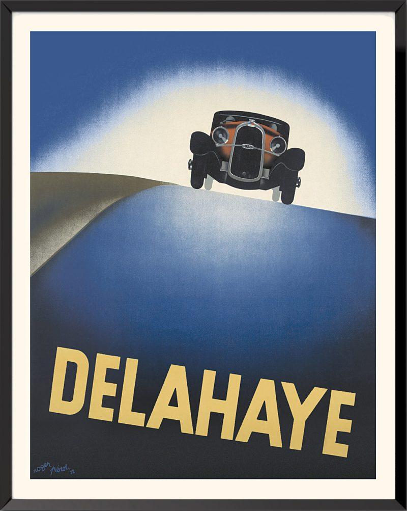 Affiche Delahaye de Roger Pérot