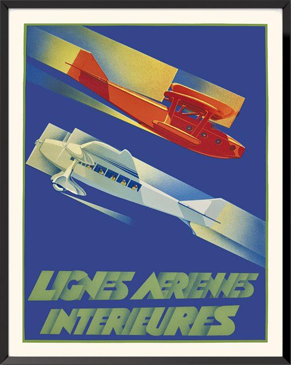 Affiche Lignes intérieures de Umberto Di Lazzaro
