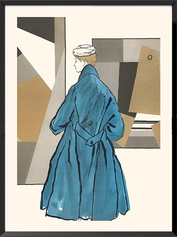 Illustration Christian Dior, 1953 de Bernard Blossac