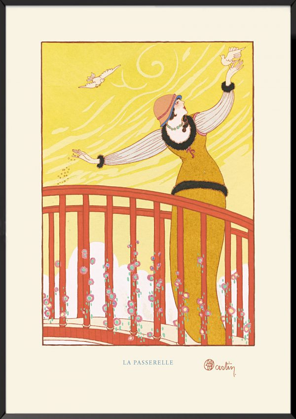 Illustration charles martin la passerelle