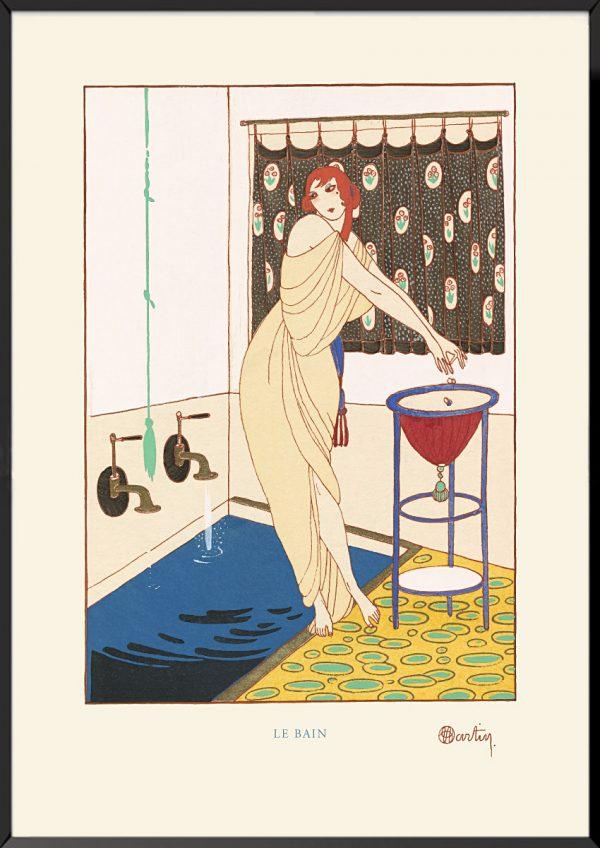 Illustration charles martin le bain