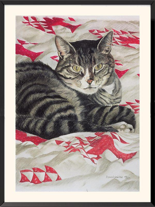 Illustration de Chat d'Anne Robinson