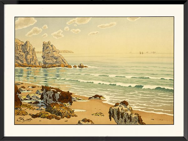 Illustration La plage d'Henri Rivière
