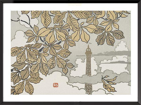 Illustration La Tour Eiffel, frontispice – 3, d'Henri Rivière