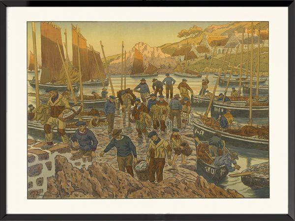 Illustration Le Port d'Henri Rivière