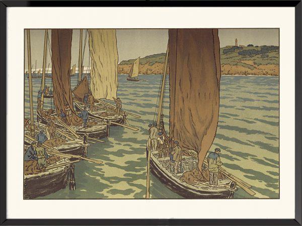 Illustration Paysage bretons d'Henri Rivière