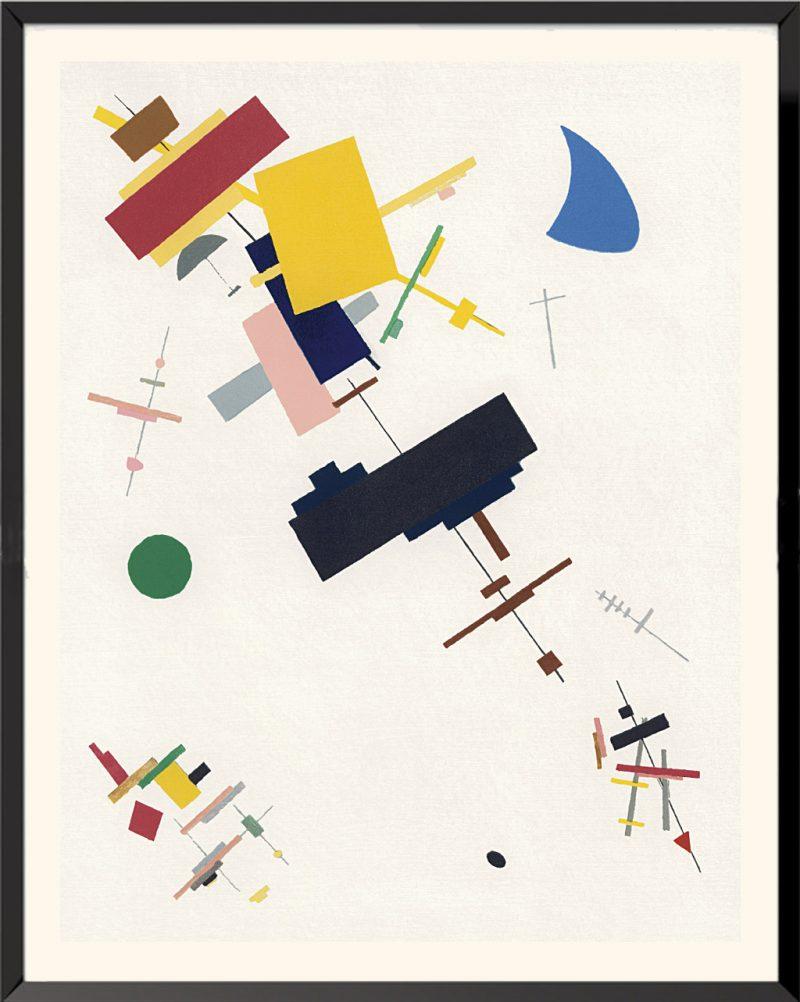 Illustration Composition suprématiste, 1916 de Kasimir Malevitch