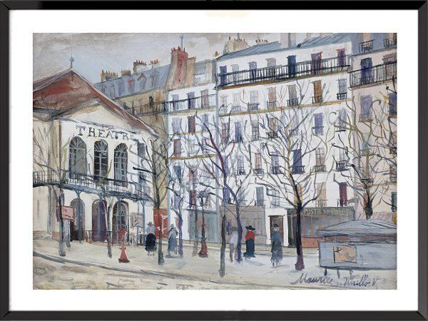 L'artiste Maurice Utrillo
