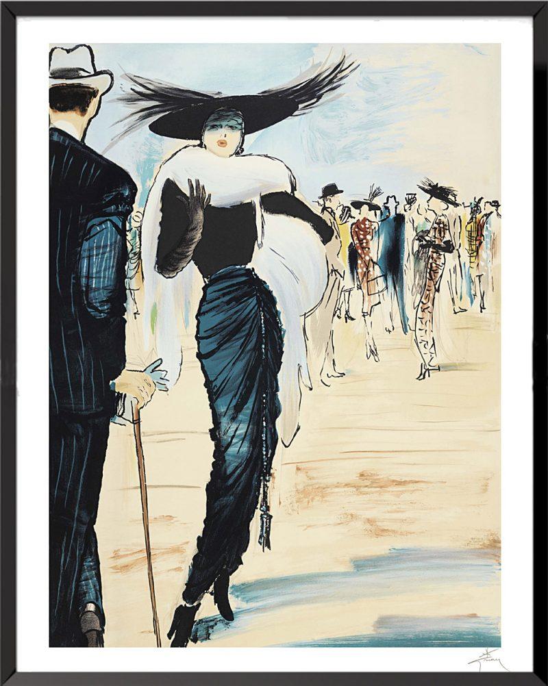 Illustration Pierre Balmain de René Gruau