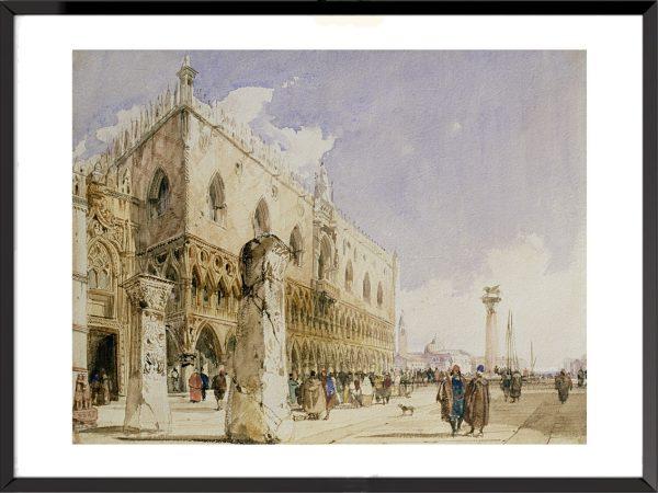 Venise, le Palais des Doges, Richard Parkes Bonington