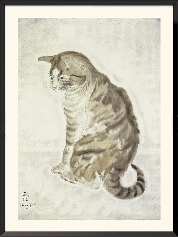 Illustration 2 Chat de Tsuguharu Foujita