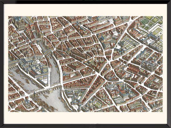 Illustration Plan de Paris, Turgot (1)