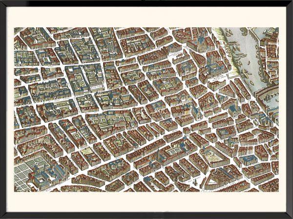 Illustration Plan de Paris, Turgot (2)