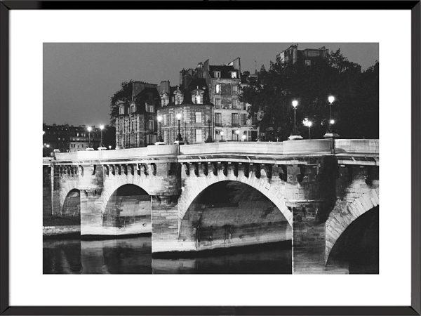 Photographies Paris, vue du Pont-Neuf de Paul Almasy