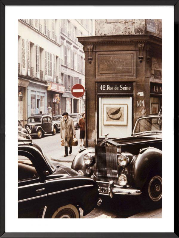 Photographie Paris, rue de Seine de Peter Cornelius