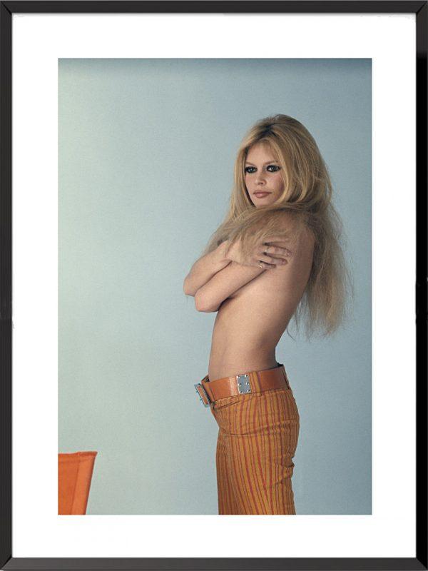 Photo Brigitte Bardot, 1967 de Sam-Lévin