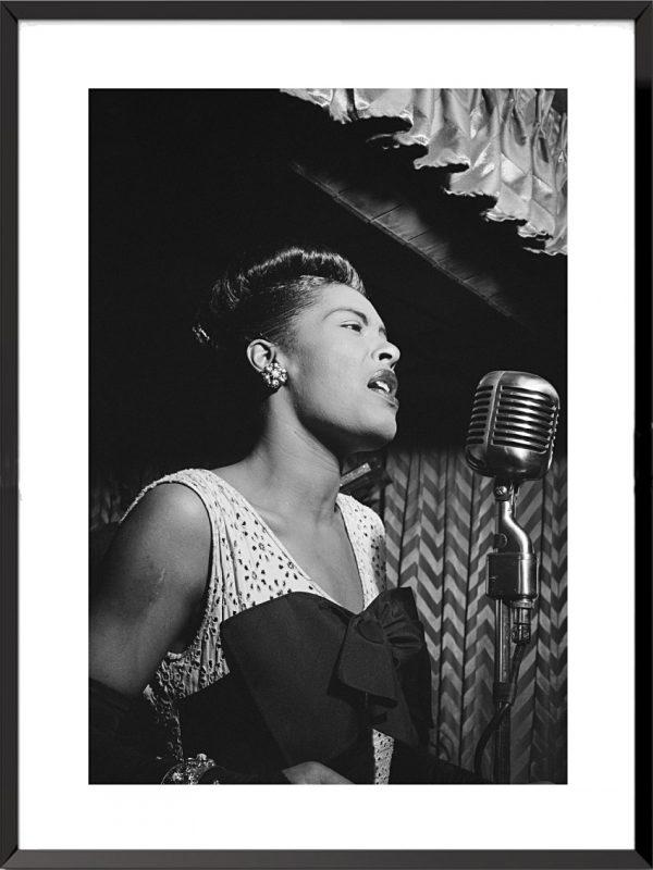 Photo Billie Holiday, 1947 de William Paul Gottlieb